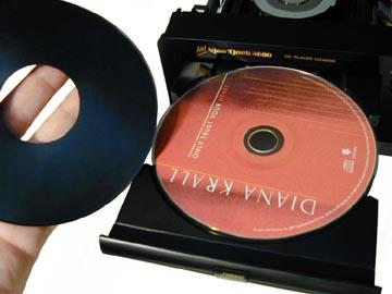 De Mat CDディスクスタビライザー